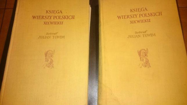 Księgi Wierszy Polskich XIX Wieku 2 tomy
