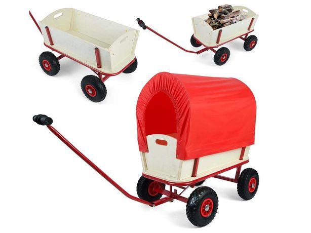 Wózek ogrodowy z plandeką 100L Humberg (4873)