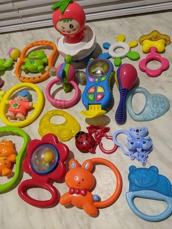 Игрушки, погремушки, прорезыватель для зубов для малышей