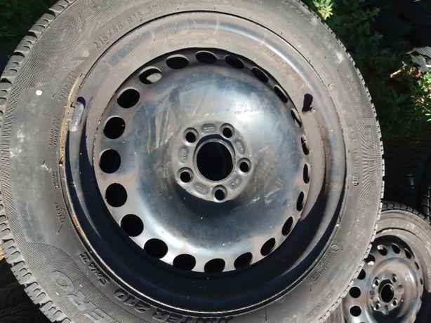 Koła zimowe Volvo 7x16 5x108 215/55r16 Pirelli sotto zero stalowe