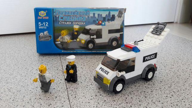 Конструктор (аналог Lego) Полицейский спецназ