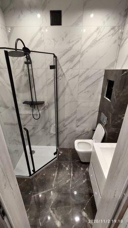 Kabina prysznicowa Rea Black Diamond z brodzikiem