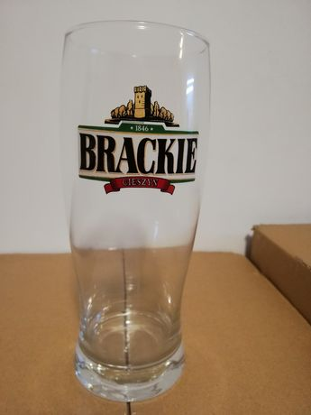 Nowe kufle szklanki na piwo Brackie, Warka, Żywiec, EB