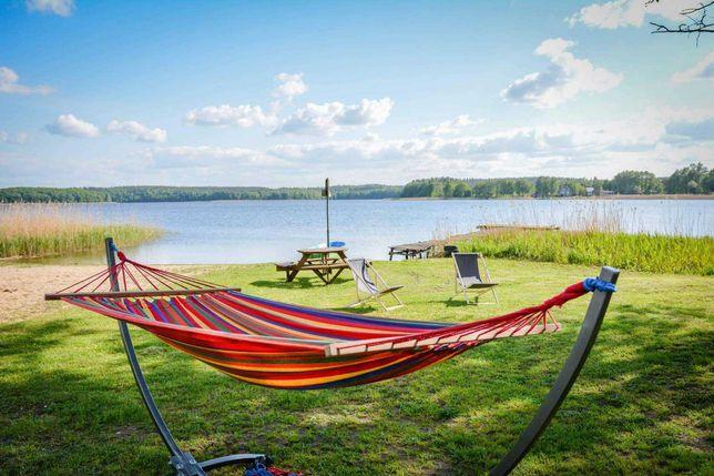 Wynajmę działkę rekreacyjną nad jeziorem Lubie