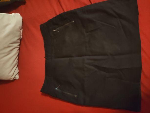Spódnica Reserved z kieszeniami suwaki 38 r