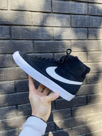 Мужские кроссовки найк Nike Blazer Mid '77 CI1172-005 Оригинал