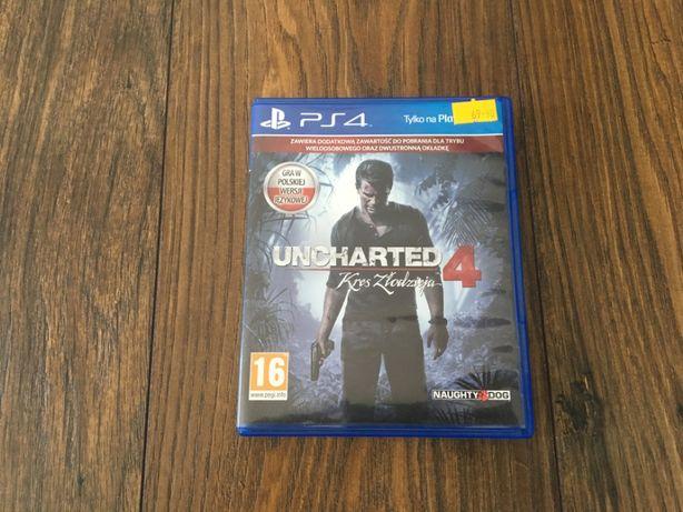 Uncharted 4 Kres Złodzieja Playstation 4/PS4