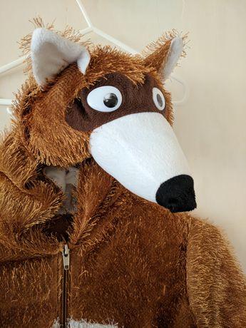 Костюм карнавальный лисичка лисица 3-4 года
