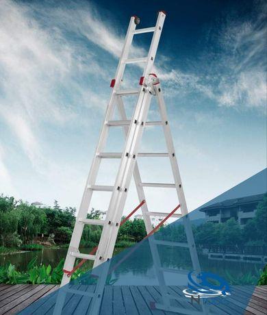 Escada Convertível Tripla 3 x 3Mts