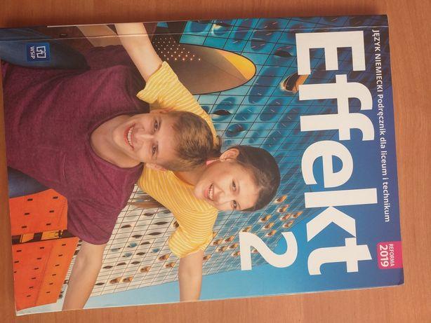 Effekt 2- książka dla 1/2 klasy liceum/technikum (język niemiecki)