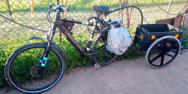 Przyczepka do roweru