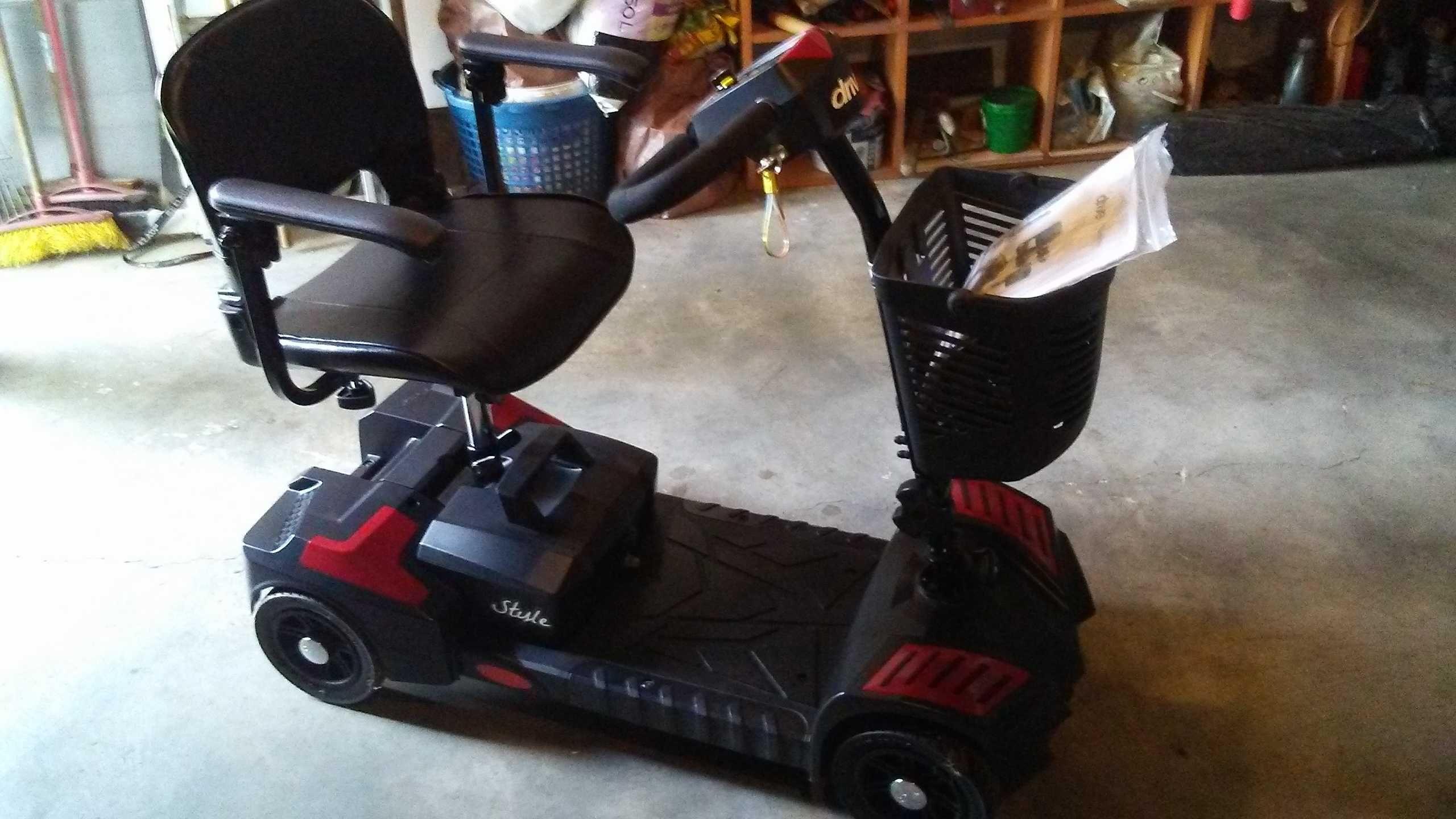 wózek elektryczny drive składany