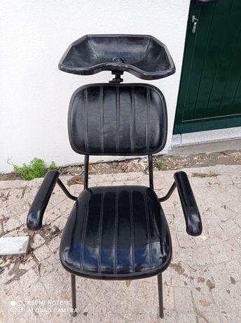 Cadeira de lavagem de cabeça barbearia