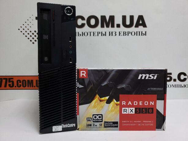Компьютер Lenovo, Intel Core i3, 4GB RAM, 250GB HDD, Radeon RX 550 2GB