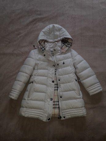 куртка демисезонная теплая на девочку