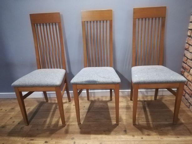 Krzesła tapicerowane - 3 sztuki
