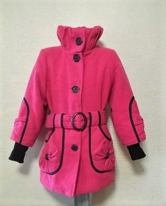 Пальто для девочки рр. 116-122