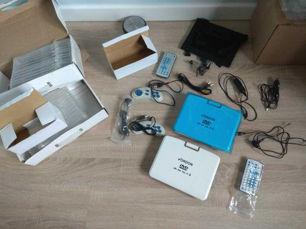 Przenosny odtwarzacz DVD Vordon NS-769D biały 8,2 cala