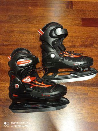 Łyżwy hokejowe regulowane Broyx Decathlon