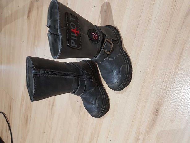 Buty chłopięce zimowe roz.25