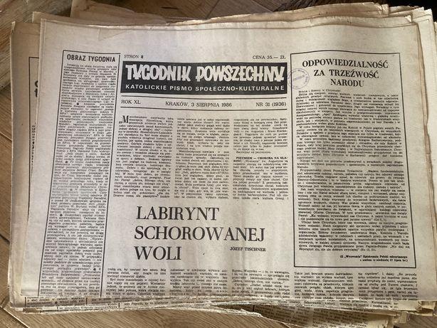 Tygodnik Powszechny - Katolickie pismo społeczno-kulturalne.