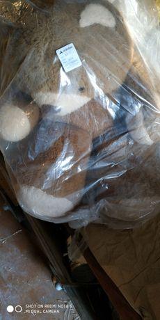 Большая мягкая игрушка мишка медведь заяц собака СССР