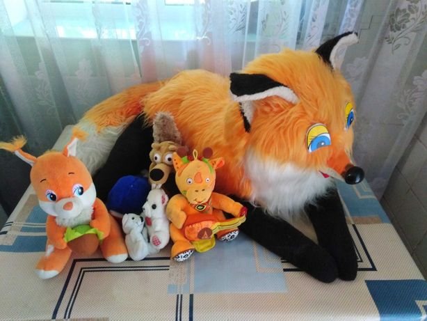 Игрушки, іграшки, лисичка