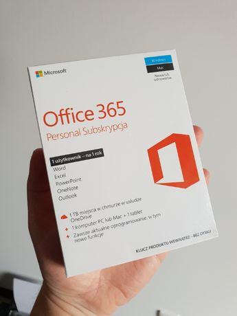 Office 365 Personal BOX zafoliowany 1TB chmura 2 stanowiska komp i tel