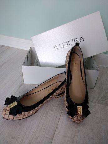 NOWE Baleriny BADURA r. 38