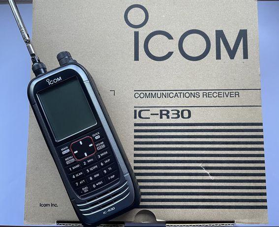Radio scanner ICOM IC-R30 como novo  (radioamador)