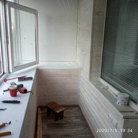 Окна двери балконы под ключ откосы  сантехника штукатурка