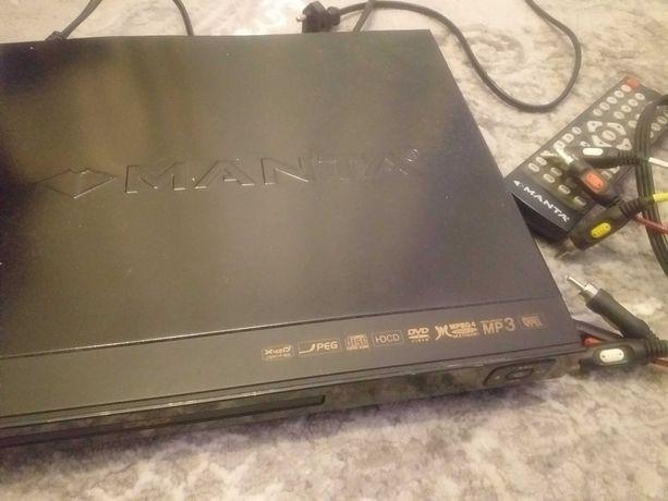 Odtwarzacz DVD USB Manta pilot kable