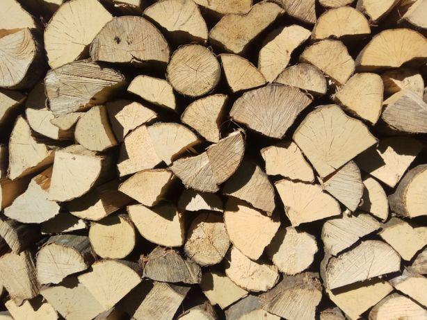 Drewno kominkowe opałowe mix GRAB DĄB BRZOZA OLCHA