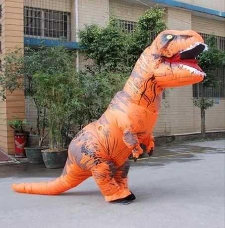 НОВИНКА! Надувной костюм динозавр T-REX до 200см.