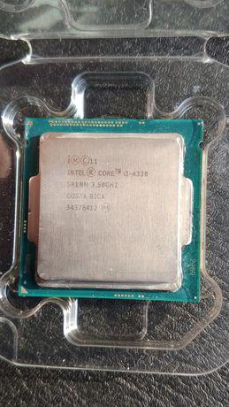 Процессор Intel Core i3 4330 3.5 ГГц LGA 1150 с куллером и коробкой