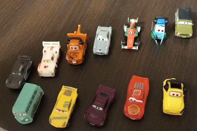 Auta 3, cars, zygzak Mc Queen, figurki z napoju z Biedronki