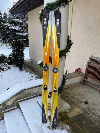 Narty Skiturowe Elan Spectrum 180cm, Wiązania Marker Alpinist 12, Foki