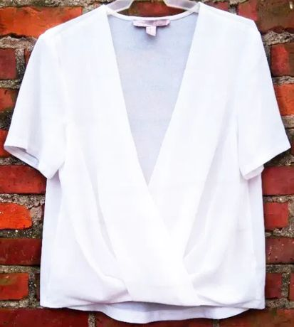 Elegancka kopertowa bluzka