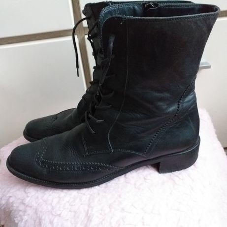 Paul Green buty skórzane botki trzewiki kozaczki skóra naturalna 41