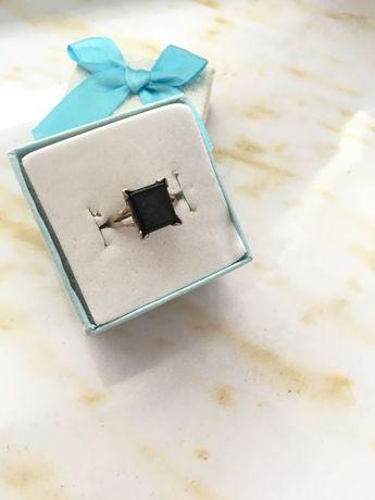 Серебрение серьги и кольцо