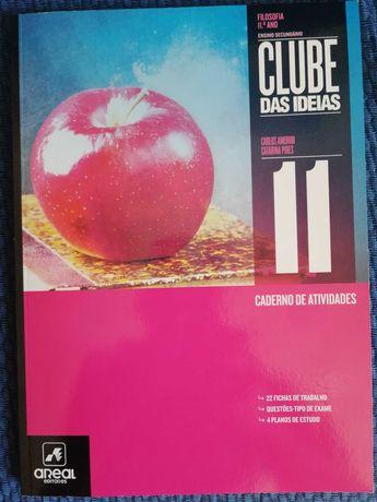 Caderno de atividades Filosofia clube das Ideias 11, novo