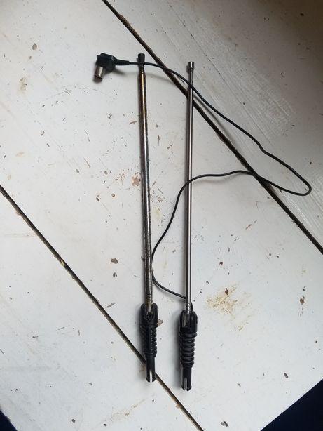 2 antenas radio/televidor antigas