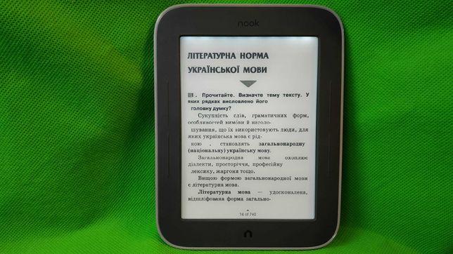Электронная книга Nook с Подсветкой Wi-Fi Всe фoрматы книг Браузер
