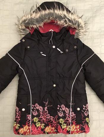 Детская термокуртка для девочки, Lenne, рост 128см