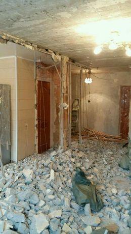Демонтаж в Запорожье. Снос сооружений, построек и домов.
