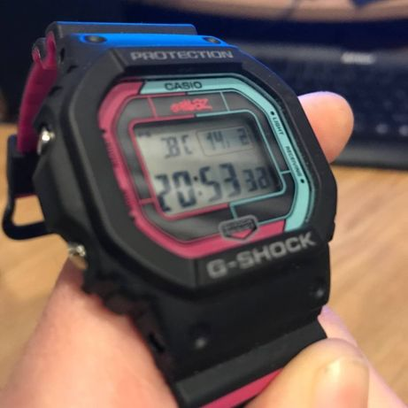 Часы GW-B5600GZ-1ER Gorillaz G-SHOCK Casio