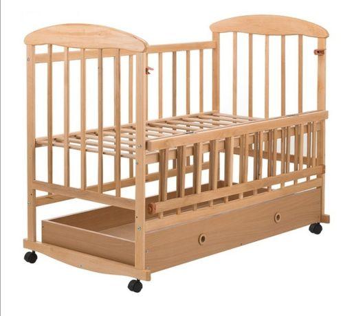 Детская кроватка с матрасом и пеленальным столиком. Новая!