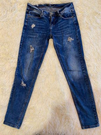 Джинси фірми Sinsay, джинсы, розмір С-ХС, ідеальний стан