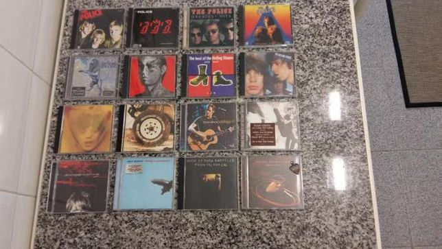CD Diversos Bob Marley - Genesis - Roger Waters - Bon Jovi - James...