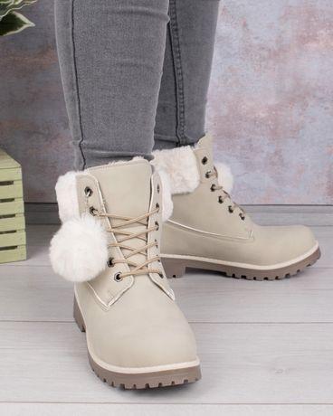 Женские теплые зимние ботинки